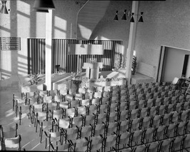 interieur Gereformeerde kerk
