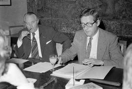 De CdK's van Zeeland en Noord-Brabant, C. Boertien en J.D. van der Harten, pleit…