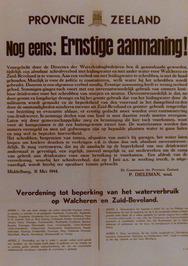 verordening tot beperking van het waterverbuik op Walcheren en Zuid-Beveland