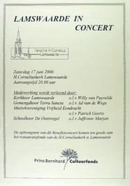 concert in de parochie H. Corneliusm.m.v. kerkkoor Lamswaarde, gemengd koor Terr…
