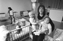 de kinderopvang is op de kaart gezet door Janny Fioole, die samen met Erna Ramst…