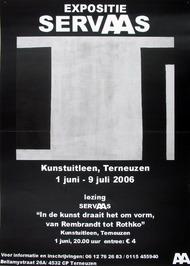 expositie en lezing Servaas bij de Kunstuitleen