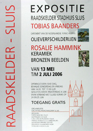 expositie van Tobias Baanders en Rosalie Hammink in de Raadskelder