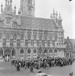 Openluchtconcert van de stafband van het Leger des Heils uit Amsterdam en brassb…