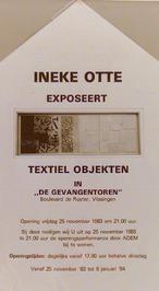 expositie van Ineke Otte in de Gevangentoren