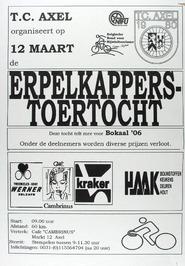 Erpelkappers-toertocht georganiseerd door T.C. Axel