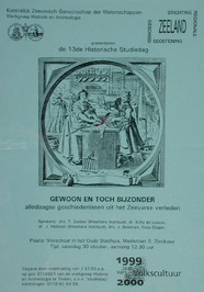 13e Historische Studiedag georganiseerd door KZGW en St. Regionale Geschiedbeoef…