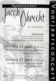 voorjaarsconcert in de koorkerk Onze-Lieve-Vrouwekerk