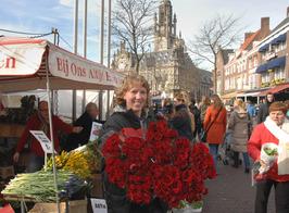 rozen, bloemen; Andre's bloemenkraam
