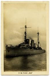 Hr. Ms. kruiser Java, gebouwd door de Schelde.