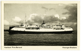 Veerboot Prins Bernard, veerdienst Vlissingen-Breskens.
