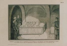 afbeelding van de grafkelder van Michiel Adriaanszn. de Ruyter in de Nieuwe kerk…