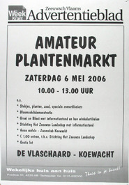 amateur plantenmarkt in De Vlaschaard