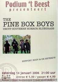 optreden van the Pine Box Boys