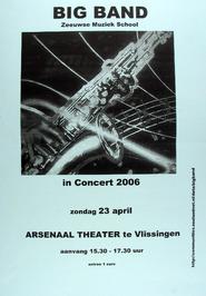 concert door de Big Band in het Arsenaaltheater