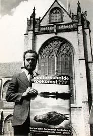 Wim van Gilst, schrijver van het Oosterscheldelied