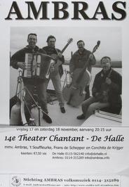 14e theater Chantant in De Halle m.m.v. Ambras.