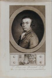 portret van Lucas van Steveninck, deze was kapitein van het genootschap Luctando…