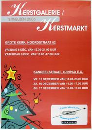 kerstgalerie en kerstmarkt