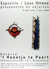 expositie van Luuc Ottens in galerie 't Haentje te Paart