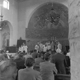 Rooms-Katholieke kerk; missie tentoonstelling deken A. Lievegoed
