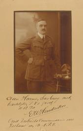 E.W. Hendrikse, oud districts Commissaris voor Zeeland van de Nederlandse Padvin…