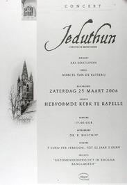 concert door Jeduthun in de N.H. kerk
