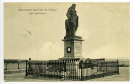 Standbeeld Michiel Adriaensz. De Ruijter opgericht in 1841.