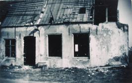 boerderij Oostperk aan de Veerseweg 126, afgebroken na beschieting 1944 en na in…