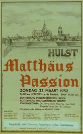 uitvoering van de Matthäus Passion