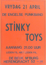 optreden van Stinky Toys