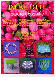 studio expositie van Ineke Otte