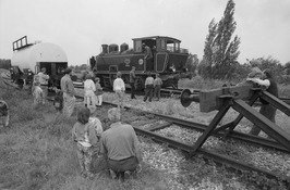 stoomtrein Goes Borssele, locomotief