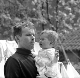 Henk Don met zijn dochter Dominique
