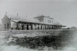 spoorzijde station