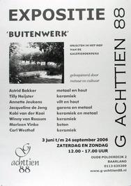 expositie Buitenwerk in G Achttien 88