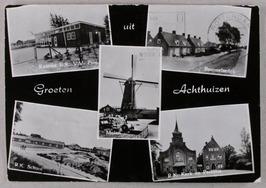 Bommelsedijk, R.K. School, Molen, R.K.Kerk en Pastorie