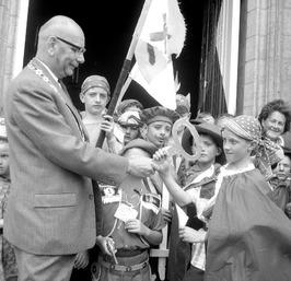 opening vakantie spelweek door wethouder en loco-burgemeester Arie Berenpas