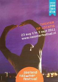 theater op locatie van het Zeeland Nazomerfestival
