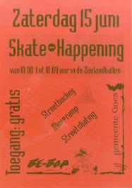 skate-happening in de Zeelandhallen