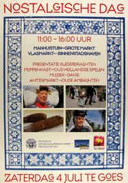 """nostalgische dag georganisser door klederdrachtgroep """"Mooi Zeeland"""""""