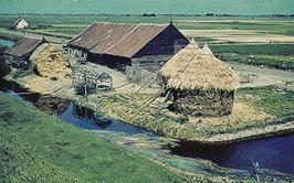 boerderij d'Oute Poppe van de familie Boot aan de Provincialeweg / Koolweg in Re…
