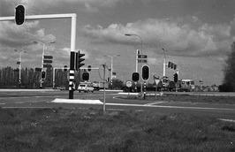 kruispunt ten westen van Goes, links richting Zierikzee, rechts naar de A 58, re…