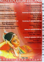 concert agenda september