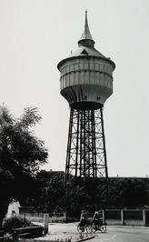 eerste stalen toren in Nederland, gebouwd in 1912