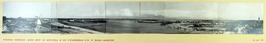 panorama Haamstede Burgh vanaf de watertoren op het stationsgebouw R.T.M. te Bur…