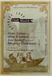 concert in het stadhuis georganiserd door netwerk voor oude muziek