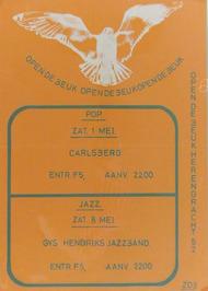 optredens van Carlsberg en de Gys Hendriks Jazzband