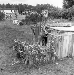 Jeugdland; huttenbouw