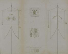 wapen en vaandel Gravenpolder
